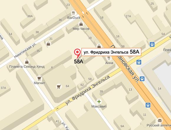 Салтыкова-щедрина улица в орле на карте