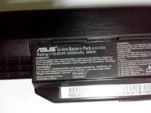 Парт номер аккумулятора ноутбука ASUS